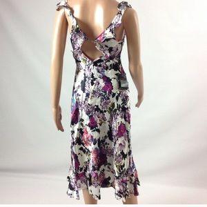 NWT Silk Bebe Floral Dress 00